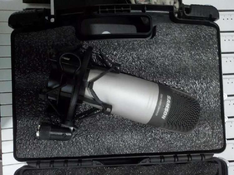 Micrófono condenser samson c01