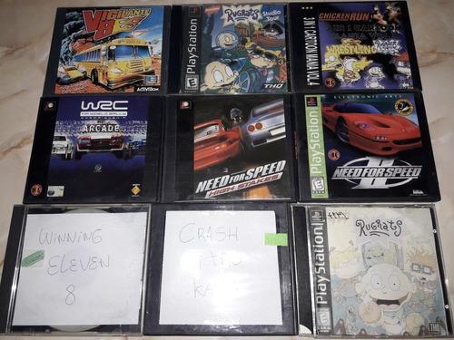 Mini lote de juegos de playstation 1