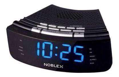 Nuevo) despertador noblex radio reloj digital am fm