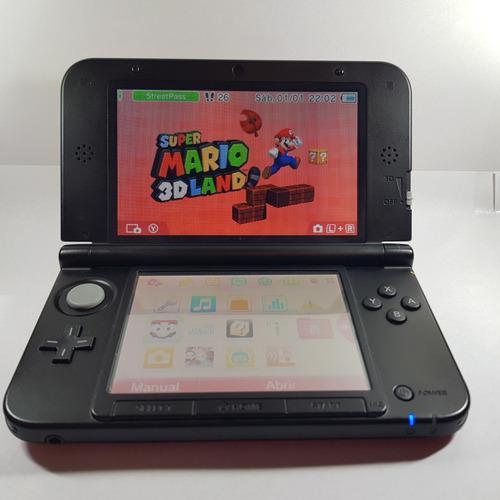 Nintendo 3ds xl + 2 pokemon original + sky3dds (impecable)