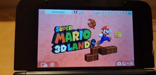 Nintendo 3ds xl + impecable ! muchos juegos y funda original