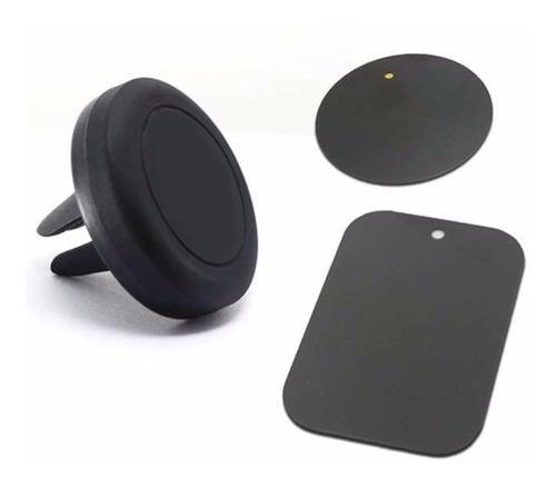 Soporte porta apoya celular magnetico auto p/ rejilla aire