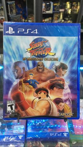 Street fighter 30th anniversary collection ps4 fisico nuevo