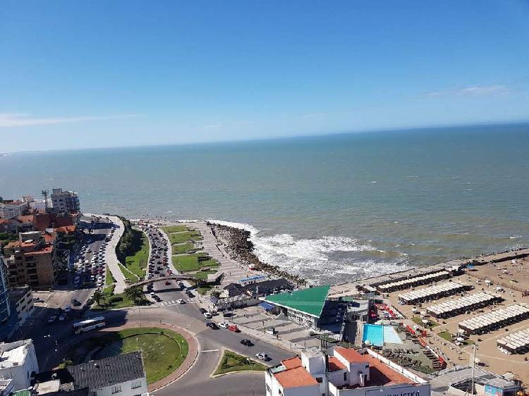 Venta oportunidad 2 ambientes frente al mar cochera obra gas