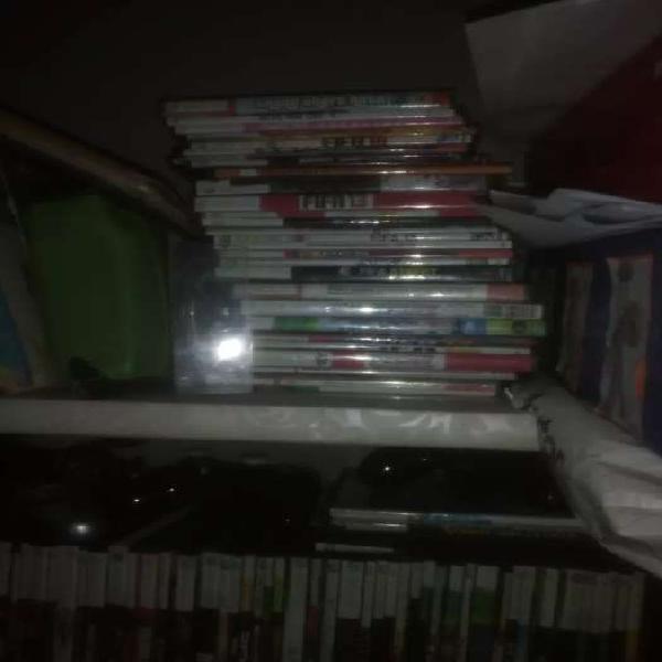Xbox 360 /kinect 2 mandos y 120 juegos