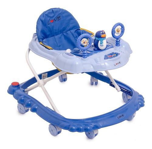Andador musical love 728b con sonajero y juguetes bebe