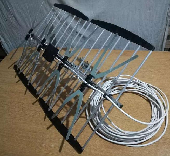 Antena dijital completa hd lista para usar