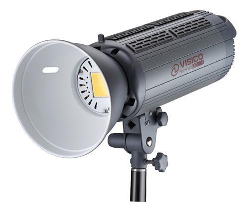 Iluminador led 200w luz continua foto video visico m/bowens