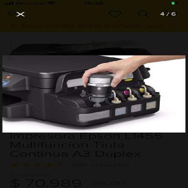 Impresora epson l1455
