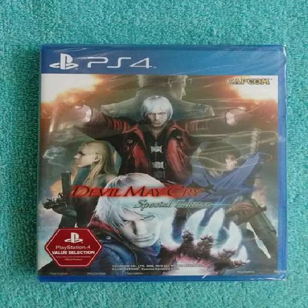 Juegos ps4 devil may cry 4 special edition nuevo sellado