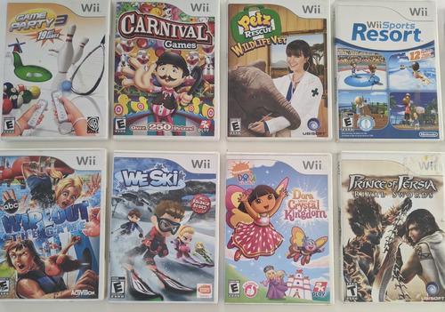 Juegos nintendo wii - varios (originales)