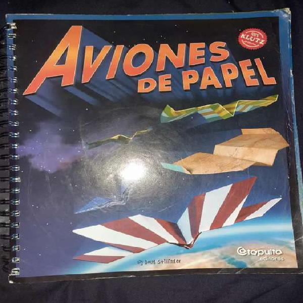 Libro para hacer aviones de papel