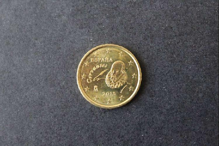 Moneda euro - españa, 2013, 10 centavos de euro, anverso
