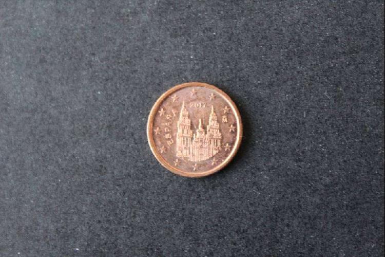 Moneda euro - españa, 2017, 1 centavo de euro, anverso