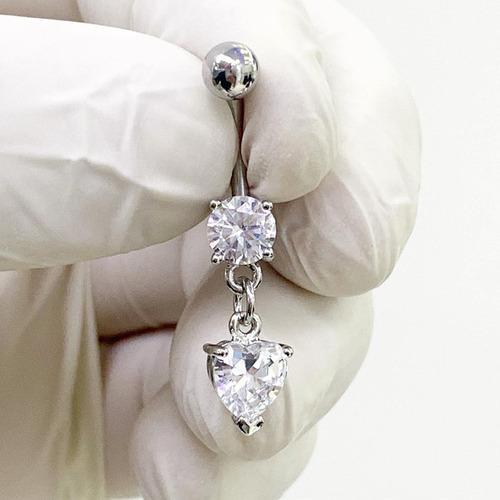 Piercing colgante corazón dije piercing argentina ®