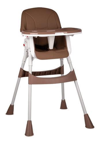 Silla de comer para bebé reclinable picnic briccone brown