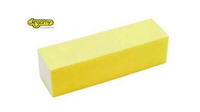 Bloque amarillo para uñas jessamy