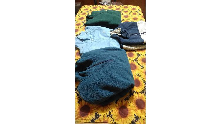 Vendo lote de ropa polar talle m y l todas juntas