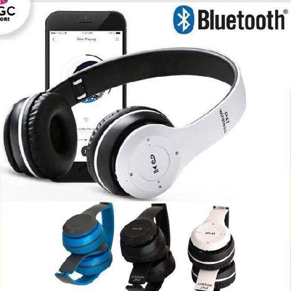 Auriculares inalámbricos nuevos - bluetooth - micrófono-