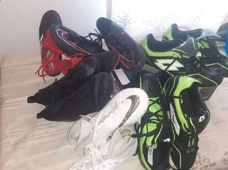 Botines de futbol - nuevos y usados