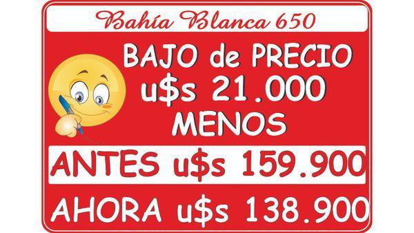 Bahia blanca 600 - ph en venta en floresta, capital federal