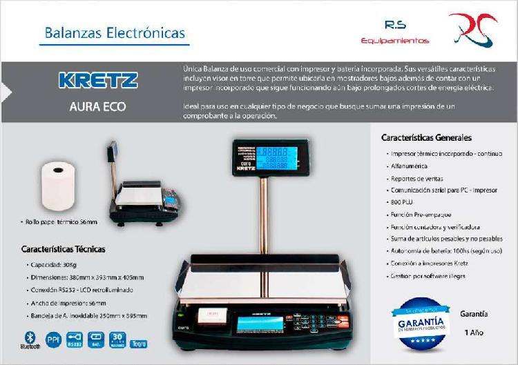 Balanzas electrónicas - nuevas con garantía (1año)