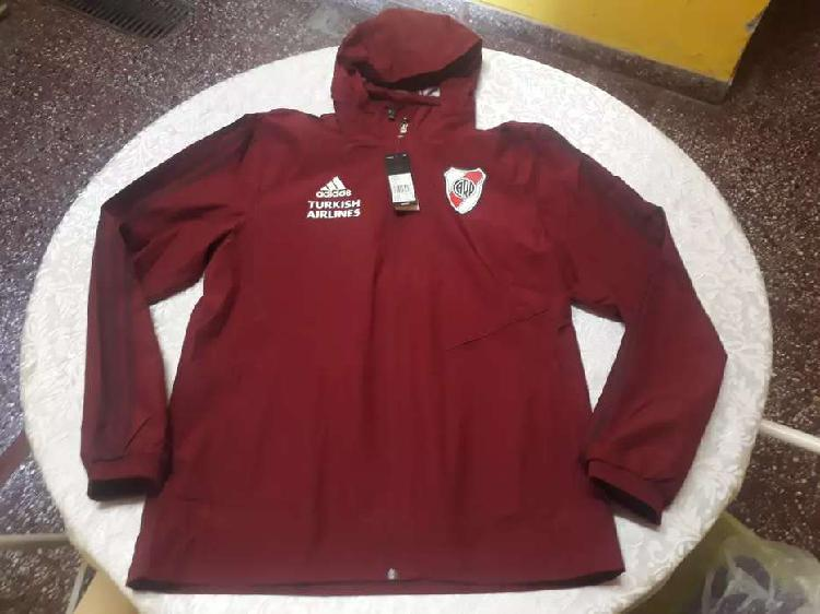 Campera rompeviento adidas river plate