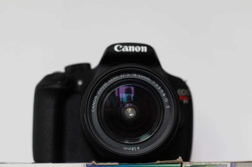 Cámara canon t5 kit lente 18-55mm