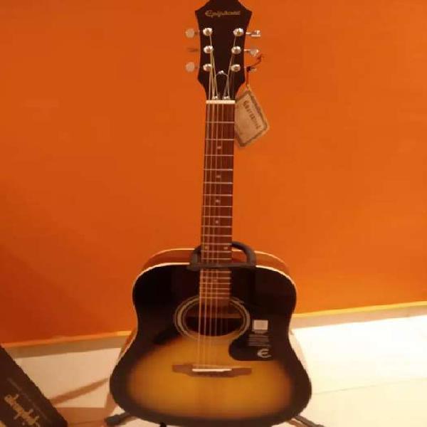 Guitarra acústica epiphone dr 100