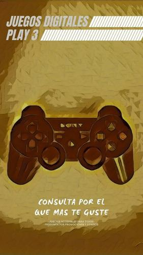 Juegos digitales play station 3