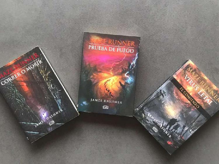 Libros saga correr o morir