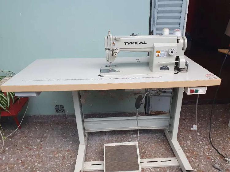 Maquina de coser recta typical