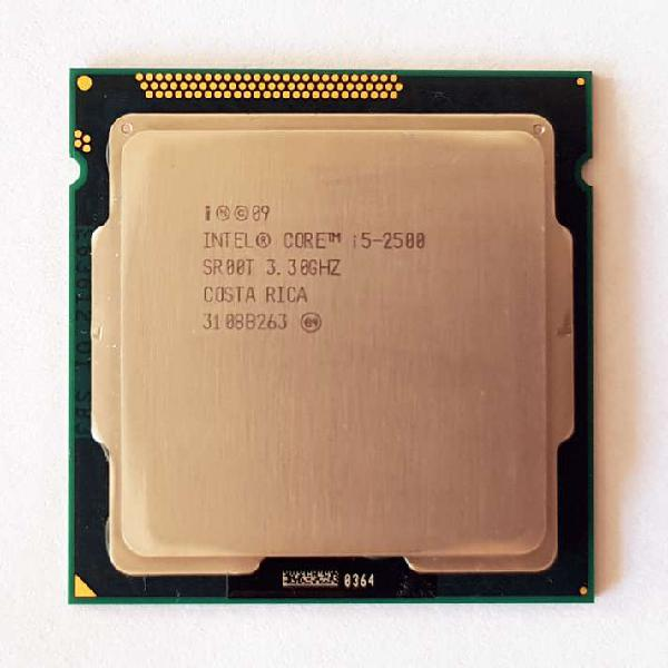 Procesador intel core i5-2500 (6mb cache, 3.3ghz)