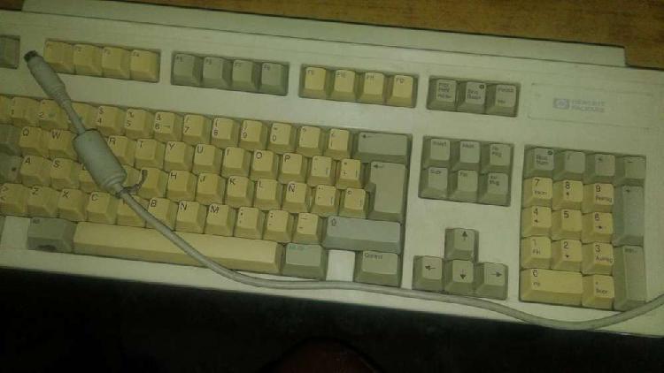 Antiguo teclado hp hewlett packard