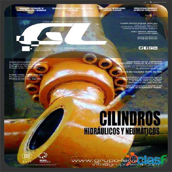 Reparacion y fabricacion de cilindros hidraulicos y neumatic