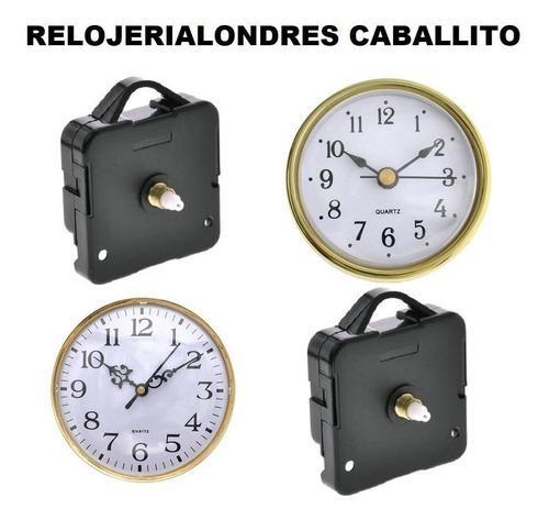 5 máquinas + 5 insertos para hacer relojes artesanías