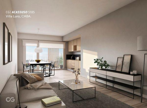 Acassuso 5100 - departamento en venta en villa luro, capital