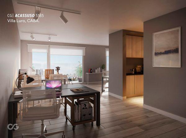 Acassuso 5100 - oficina en venta en villa luro, capital