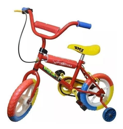 Bicicleta rodado 12 bmx nena nene varon mujer niño niña