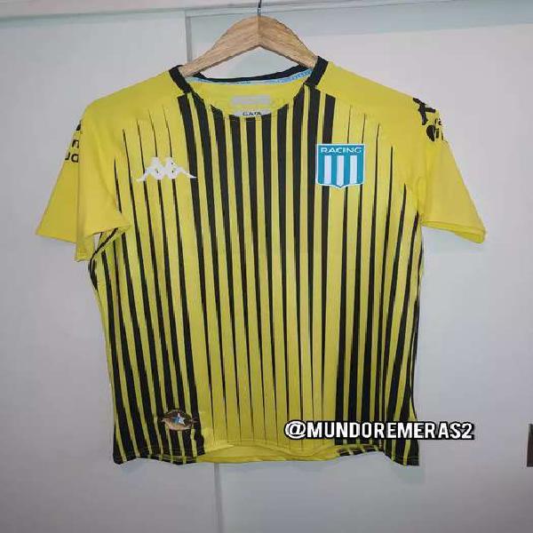 Camiseta racing club arquero amarilla 2019