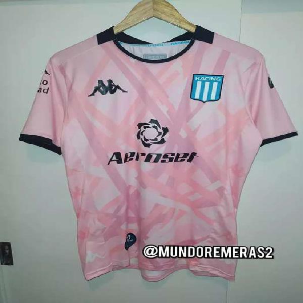 Camiseta racing club arquero rosa 2020