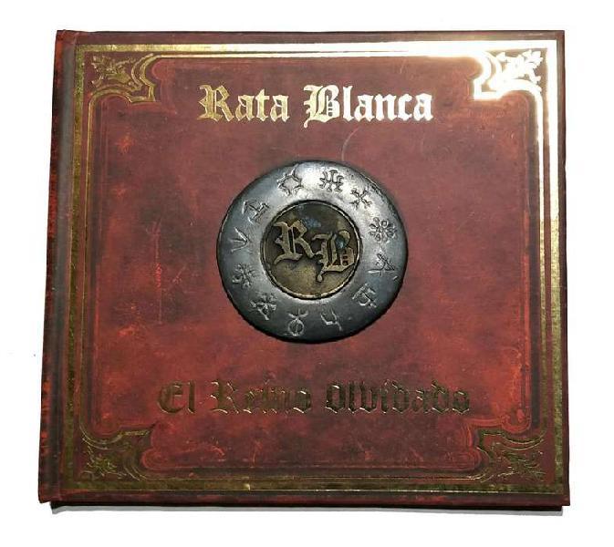 Cd rata blanca el reino olvidado edicion coleccionista 1era