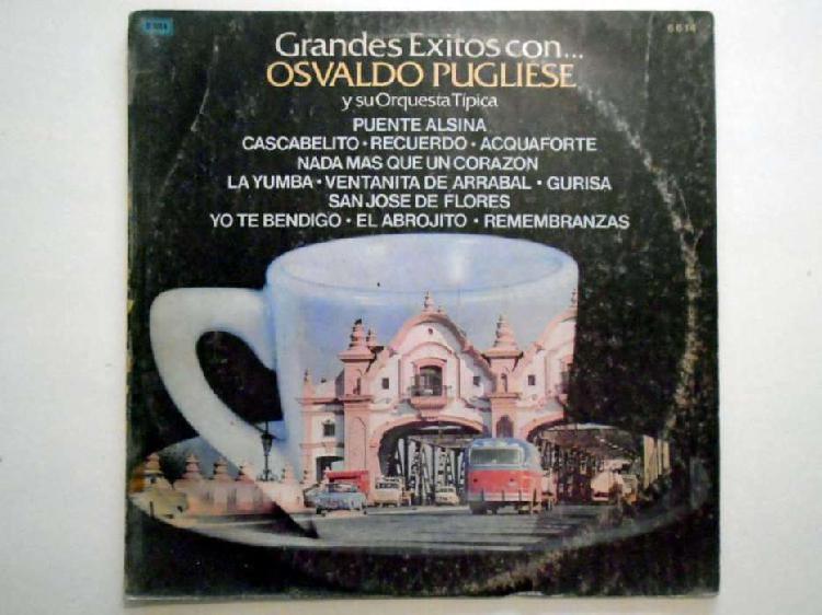 Disco lp vinilo tango emi odeon osvaldo pugliese 33 rpm 1974
