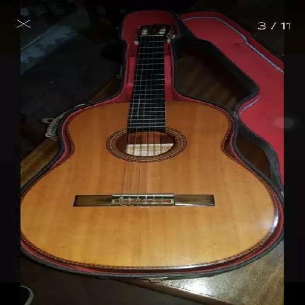 Guitarra antigua casa nuñez año 1967 modelo de exposición