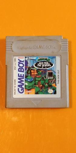 Juego Tortugas Ninja 2 - Game Boy Nintendo