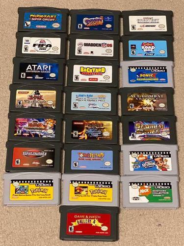Juegos gameboy advance importados de usa