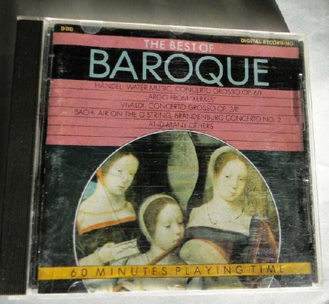 Música clásica : paul casals / the best of baroque /