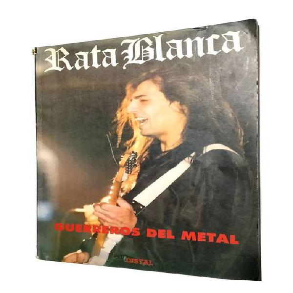 Rata blanca libro revista guerreros del metal 1992 rock