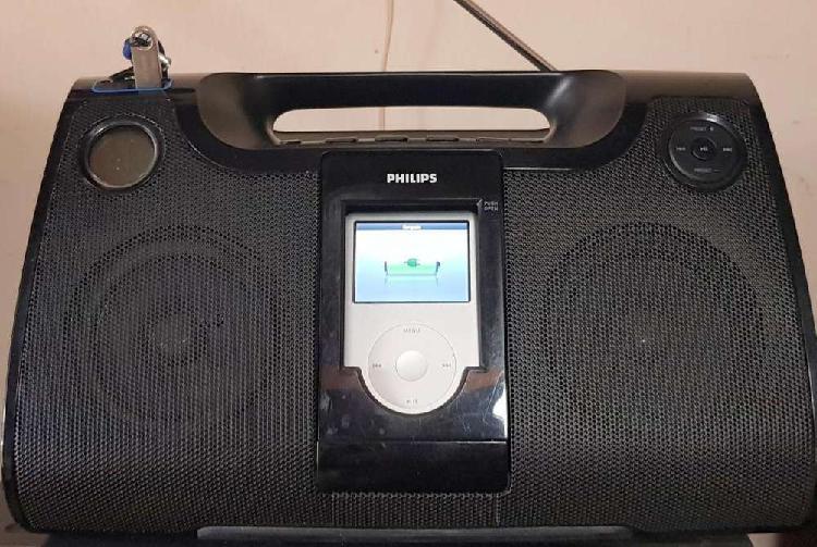 Sistema de audio para ipod - fm - pendrive y auxiliar
