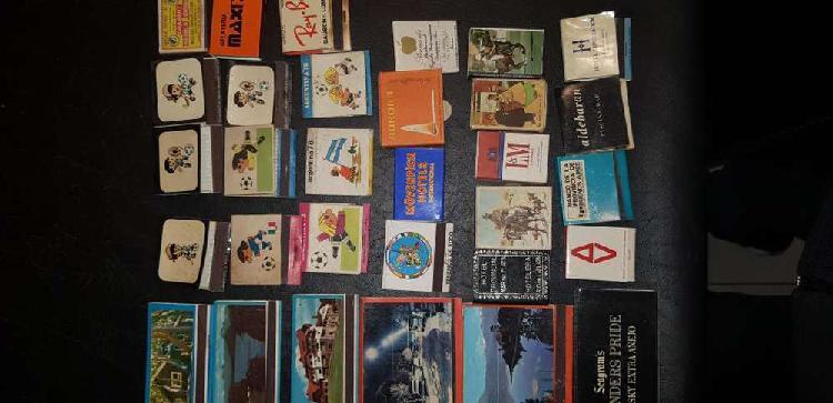 Cajas de fósforos del mundial 1978 y otras